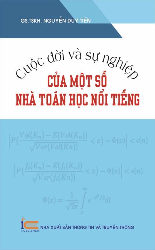 Cuộc đời và sự nghiệp của một số nhà toán học nổi tiếng