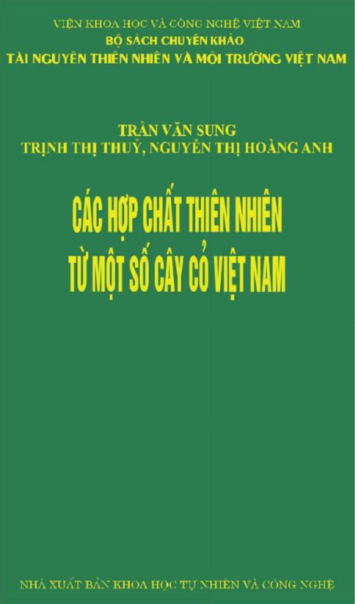 Các hợp chất thiên nhiên từ một số cây cỏ Việt Nam